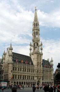 Bryssels stadshus har liknande grundform som Helsingborgs rådhus. Bild: Ala z.