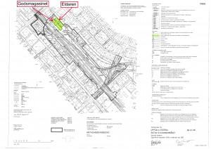 Detaljplan: Uppsala central Östra stationsområdet plankarta A1, med kommentarer